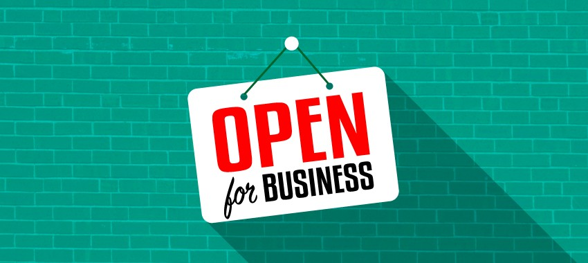 6 Promotional Signs to Let Customers Know You're Open For Business
